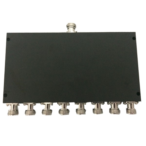 698-2700MHz 50W N 8 Way Power Splitter